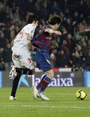 Messi vs Valiente