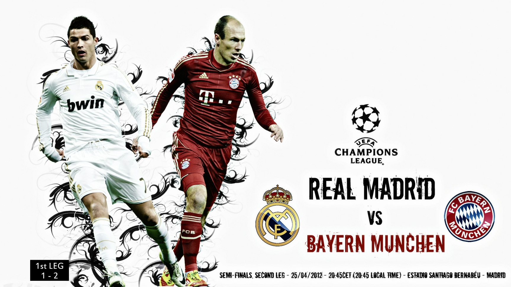 real madrid and bayern