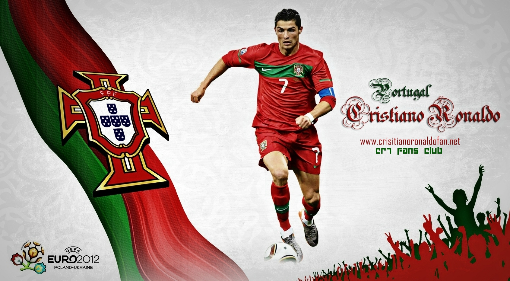 Wallpaper  CR7     Gear Up For Euro 2012