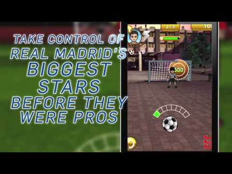 "VIDEO : New iPhone Game ""Journey to Real Madrid"""