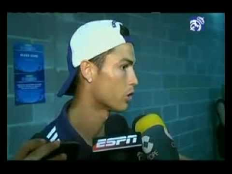 Ronaldo Speaks To The Media after 5-1 Win Over AC Milan