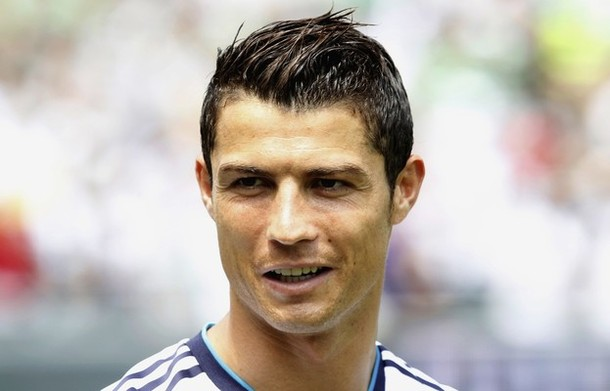 Real Madrid forward Ronaldo smiles before playing against Celtic in their World Football Challenge soccer match in Philadelphia Pennsylvania