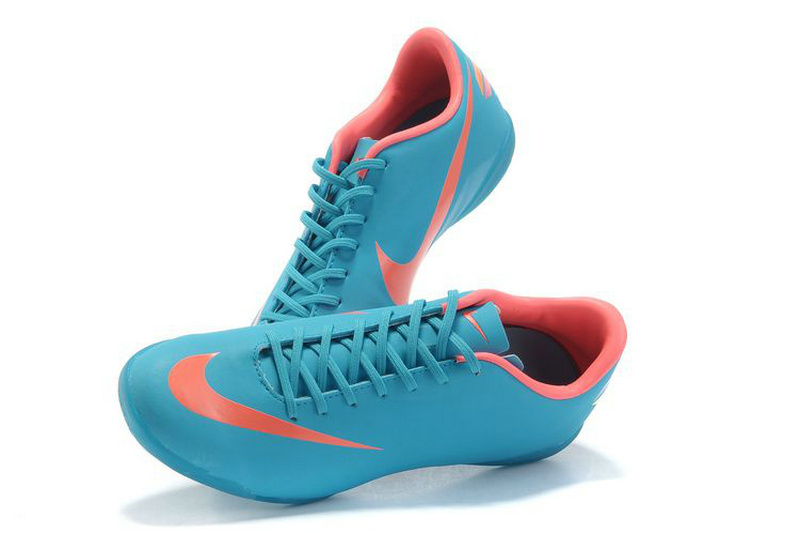 Nike Mercurial Victory VIII IC Indoor Soccer Shoes Blue Pink_02