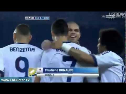 Video: Cristiano Ronaldo Goal I vs Barcelona (Oct 7, 2012)