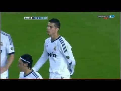 Video: Cristiano Ronaldo Goal II vs Barcelona (Oct 7, 2012)