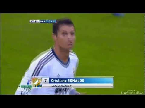 Video: Cristiano Ronaldo – Goal [P] vs Celta (Oct 20, 2012)