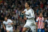 Cristiano Ronaldo of Real Madrid CF celebrates after scoring the opening goal during the Copa del Rey Final match between Real Madrid CF and Club Atletico de Madrid at Estadio Santiago Bernabeu on May 17, 2013 in Madrid, Spain.