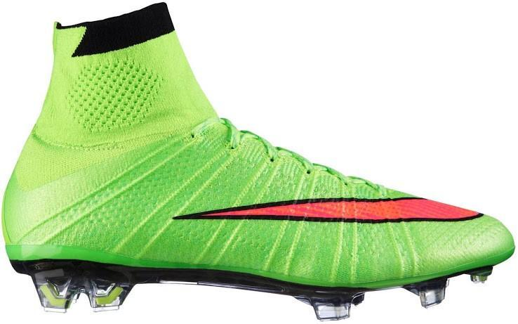 Green Nike Mercurial Superfly Boots