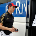 Pictures : Cristiano Ronaldo Arrival at Bilbao (1 May 2012)