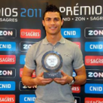 Pictures : Cristiano Ronaldo Received Portuguese Athlete of the Year 2011