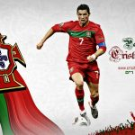 Wallpaper: CR7 – Gear Up for Euro 2012!