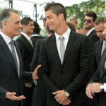 Pictures : Portugal President Welcomed Cristiano Ronaldo and the NT (4 June 2012)