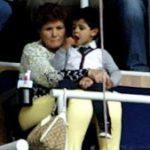 Pictures : Cristiano Ronaldo Junior Watch Dad at Levante Match (6 April 2013)