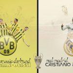 Wallpaper: Lewandowski vs Ronaldo!