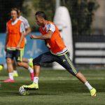 Pictures: Cristiano Ronaldo Training (April 26, 2013)
